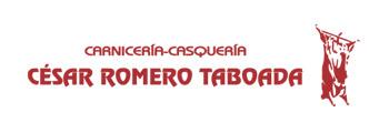 Logo Carnicería César Romero Taboada